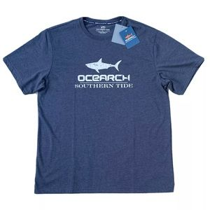 Southern Tide XL 1190 Blue OCEARCH T Shirt NWT